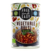 Free & Easy Organic Vegetable Balti 400g
